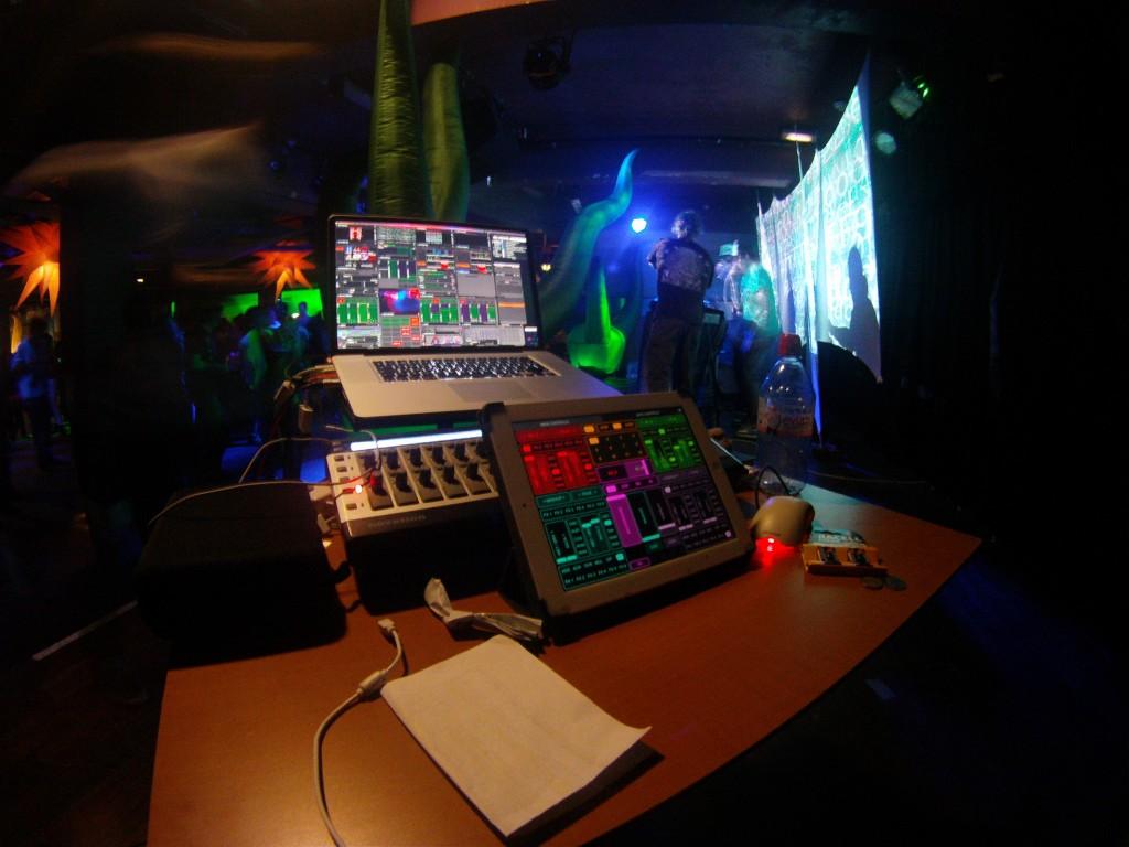 Illuminaughty VJ Setup